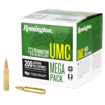 .223 Rem. REMINGTON MC 55gr 3,6g