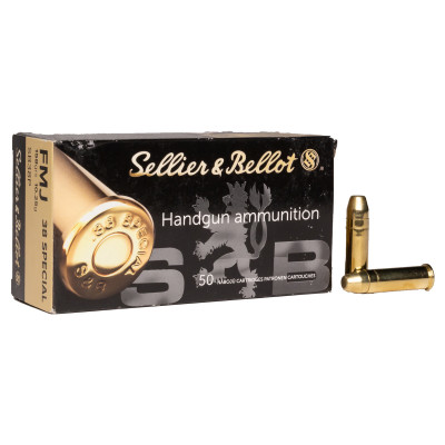 .38 SPECIAL 158grs. Sellier&Bellot